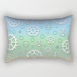 Gears II Rectangular Pillow