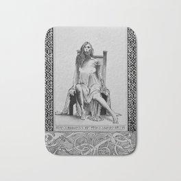 Goddess Hel Bath Mat