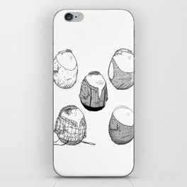 One Direction Eggs iPhone Skin