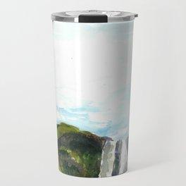 Skogafoss Travel Mug