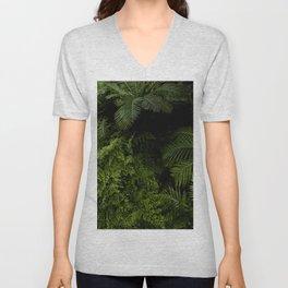 Tropical jungle. Unisex V-Neck