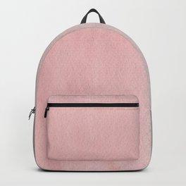 Gradient watercolor pink-gray Backpack