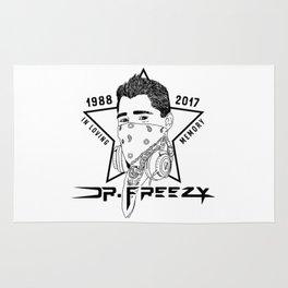 In Memory of Robert Buscher (Dr. Freezy) - Black Rug