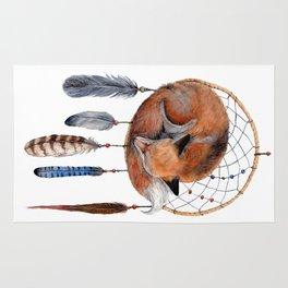 Fox Dreamcatcher Rug