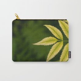 Plant Patterns - Leafy Greens Carry-All Pouch