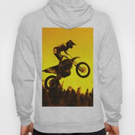 Sunset Run - Motocross Racer Hoody