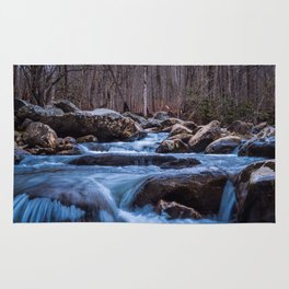 Creek in the Smoky Mountains Rug