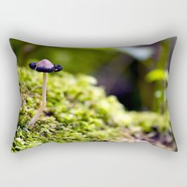 Small World Rectangular Pillow