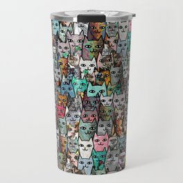 Gemstone Cats Travel Mug