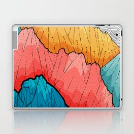 The crosshatch peaks Laptop & iPad Skin