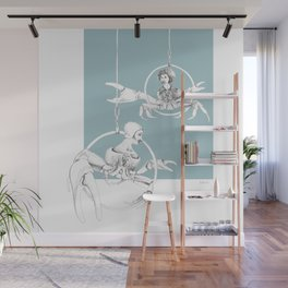 Weird & Wonderful: Crab Circus Wall Mural