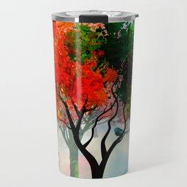 Lavish Abstract Landscape Travel Mug