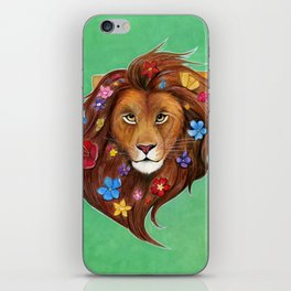 Lovely Lion iPhone Skin