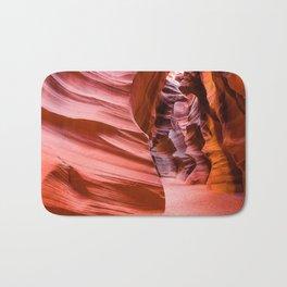 Deep Inside - Antelope Canyon in Desert Southwest Bath Mat