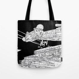 Millenium Falcon unedited Tote Bag