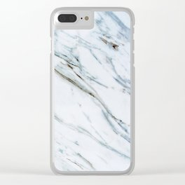 Marble Me Clear iPhone Case