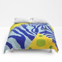 Zippy Blue Comforters