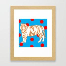 Tiger Spotted Framed Art Print