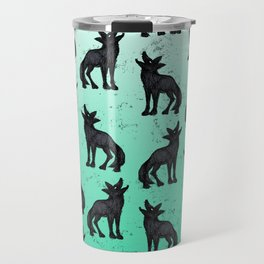 Grey Coyote Travel Mug