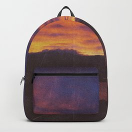 wake up & smell the campfire Backpack