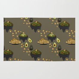 Guacamole and Chips Rug