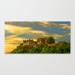 Stirling Castle at Dusk Canvas Print