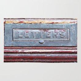 Letter Slot Rug