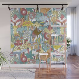 Pepperland Allover Wall Mural