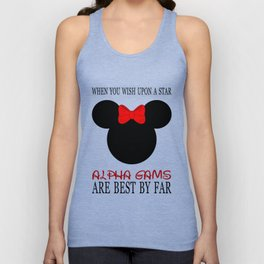 Alpha Gams Are Best By Far Unisex Tank Top