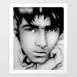 Liam Gallagher | Oasis / Beady Eye Art Print