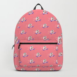 Let's Roll! Peachy Backpack