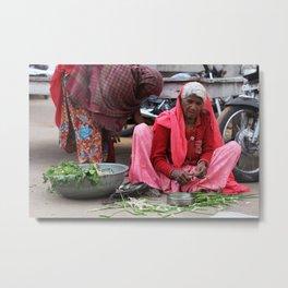 Pushkar, India '14 Metal Print