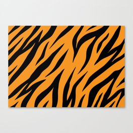 Tiger background #society6 #decor #buyart #artprint Canvas Print