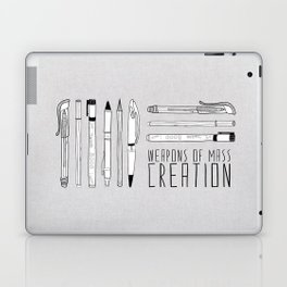 weapons of mass creation Laptop & iPad Skin