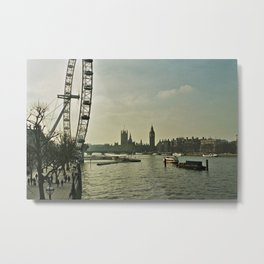 When a man tires of London, he tires of life Metal Print