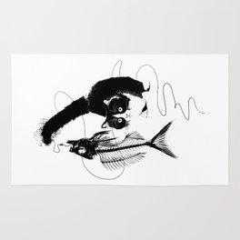Fishing Cat-Animal Love Rug