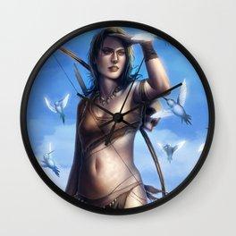 Cro-Magnons Wall Clock