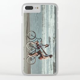 Love Ride Clear iPhone Case