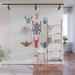 Stitches: Bugs Wall Mural