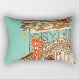 CHICAGO RED HOT Rectangular Pillow