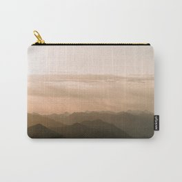 Mountain Sunrise in the german Alps - Landscape Photography Carry-All Pouch