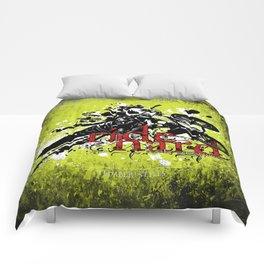 ride hard - BMX Comforters