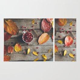 Autumn vibs Rug
