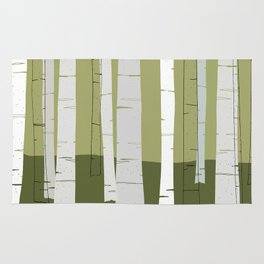 Quiet Birches Rug