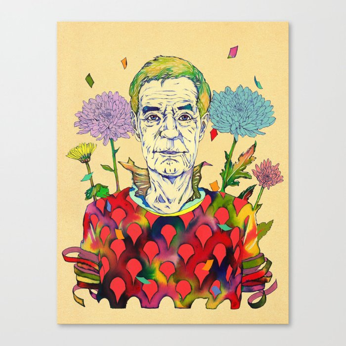 Timothy Leary Canvas Print