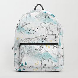 High in the Mountains Backpack