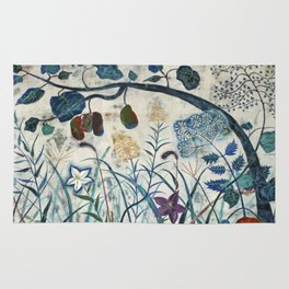 nature【Japanese painting】 Rug