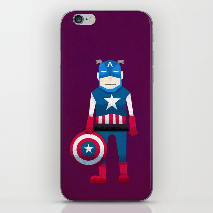 Captain America iPhone Skin