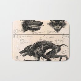 Flegellum de Bestia: Scourge Beast Bath Mat