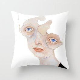 Confirmation Bias Throw Pillow